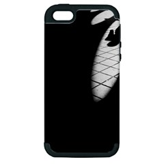 Shadows Apple Iphone 5 Hardshell Case (pc+silicone)