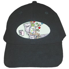 Multitasking Clown Black Baseball Cap