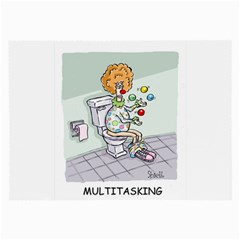 Multitasking Clown Single Sided Handkerchief