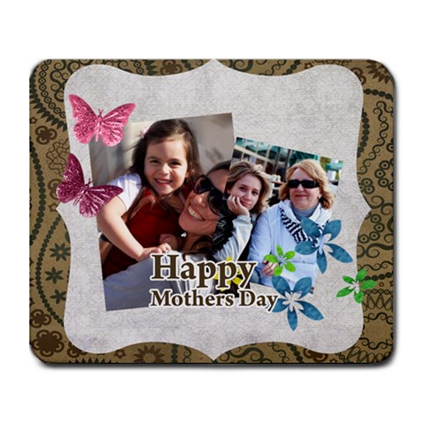 Mothers Day By Mom   Collage Mousepad   7y785l0m1lxu   Www Artscow Com 9.25 x7.75 Mousepad - 1