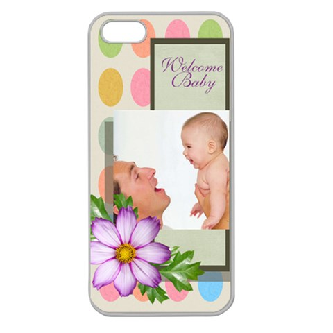 Baby By Baby   Apple Seamless Iphone 5 Case (clear)   A8js3bcjtkhh   Www Artscow Com Front