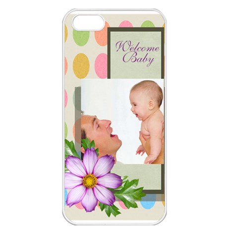 Baby By Baby   Apple Iphone 5 Seamless Case (white)   Ufnxtp9hopc0   Www Artscow Com Front