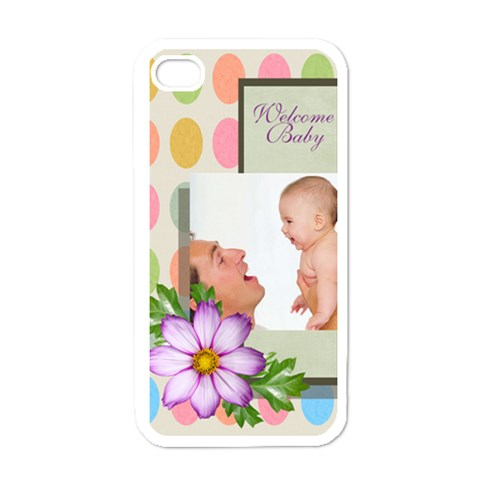 Baby By Baby   Apple Iphone 4 Case (white)   Psxtlvwuicwi   Www Artscow Com Front