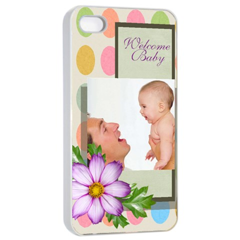 Baby By Baby   Apple Iphone 4/4s Seamless Case (white)   J7o9pfcubplc   Www Artscow Com Front