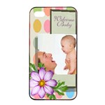 baby - Apple iPhone 4/4s Seamless Case (Black)