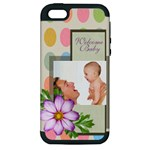 baby - Apple iPhone 5 Hardshell Case (PC+Silicone)