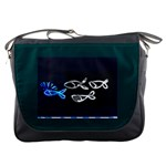 the leading fish -messenger bag