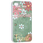 Dear Mom iPhone 4/4S Case - Apple iPhone 4/4s Seamless Case (White)