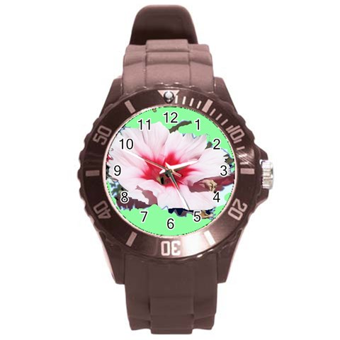 The Mixup By Riksu   Round Plastic Sport Watch (l)   276iuoasd8av   Www Artscow Com Front
