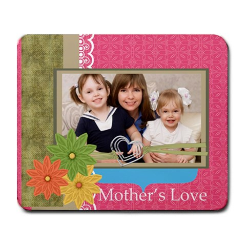 Mothers Day By Mom   Collage Mousepad   H7a5jp08qqjk   Www Artscow Com 9.25 x7.75 Mousepad - 1
