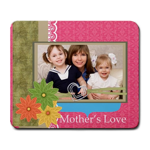 Mothers Day By Mom   Large Mousepad   5746ja5xh5pn   Www Artscow Com Front