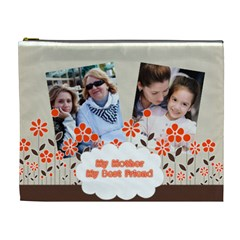 Mothers Day By Mom   Cosmetic Bag (xl)   M2kk5c5omg76   Www Artscow Com Front