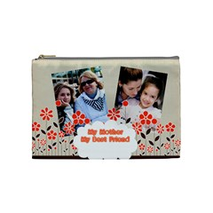 Mothers Day By Mom   Cosmetic Bag (medium)   R4al3rf2hgf0   Www Artscow Com Front