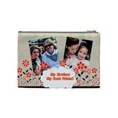 Mothers Day By Mom   Cosmetic Bag (medium)   R4al3rf2hgf0   Www Artscow Com Back