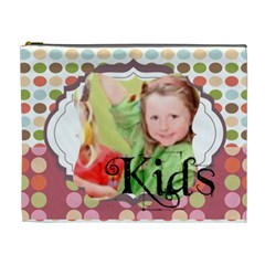 Kids By Mac Book   Cosmetic Bag (xl)   Aexc69h0j8zu   Www Artscow Com Front