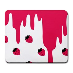 Melting Strawberry Large Mouse Pad (rectangle)