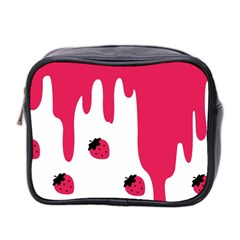 Melting Strawberry Twin Sided Cosmetic Case by strawberrymilk
