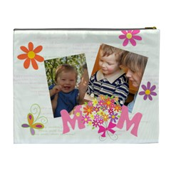 Mothers Day By Divad Brown   Cosmetic Bag (xl)   Pkpxtwsss8in   Www Artscow Com Back