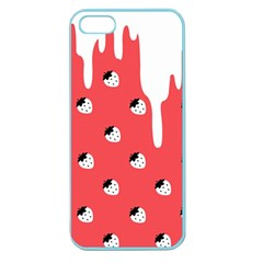 Melting White Chocolate (rose) Apple Seamless Iphone 5 Case (color) by strawberrymilk