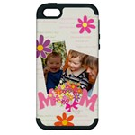 mothers day - Apple iPhone 5 Hardshell Case (PC+Silicone)
