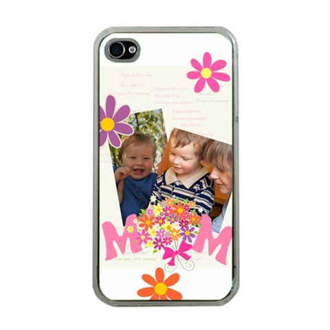 Mothers Day By Divad Brown   Apple Iphone 4 Case (clear)   2rs7l94m8rzt   Www Artscow Com Front