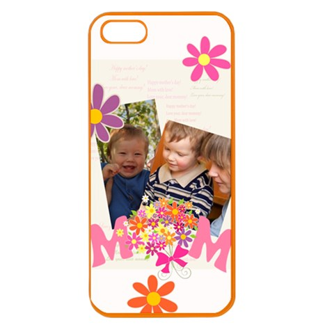 Mothers Day By Divad Brown   Apple Seamless Iphone 5 Case (color)   8jkc6wo885a6   Www Artscow Com Front