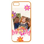 mothers day - Apple Seamless iPhone 5 Case (Color)