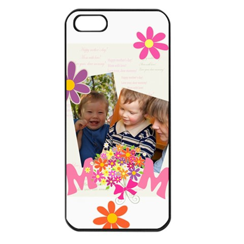Mothers Day By Divad Brown   Apple Iphone 5 Seamless Case (black)   Raz0hsf81ar6   Www Artscow Com Front
