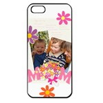 mothers day - Apple iPhone 5 Seamless Case (Black)