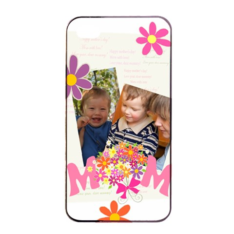 Mothers Day By Divad Brown   Apple Iphone 4/4s Seamless Case (black)   Ecrefc4qhxky   Www Artscow Com Front