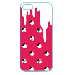 Melting White Chocolate (pink) Apple Seamless Iphone 5 Case (color) by strawberrymilk