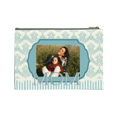 Mothers Day By Mom   Cosmetic Bag (large)   Iu020ovcu4ur   Www Artscow Com Back