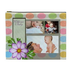 Baby By Baby   Cosmetic Bag (xl)   Cmmztlyi0637   Www Artscow Com Front
