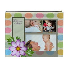Baby By Baby   Cosmetic Bag (xl)   Cmmztlyi0637   Www Artscow Com Back