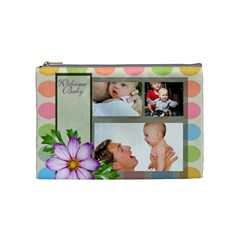 Baby By Baby   Cosmetic Bag (medium)   Idgpkgnt0mya   Www Artscow Com Front