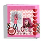 love - 5  x 5  Acrylic Photo Block