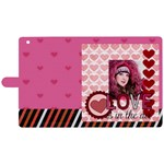love - Apple iPad 2 Woven Pattern Leather Folio Case