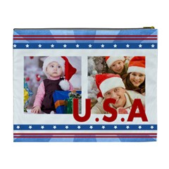 Usa By Mac Book   Cosmetic Bag (xl)   Xxlyn4n5esfj   Www Artscow Com Back