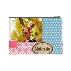 Mothers Day By Jo Jo   Cosmetic Bag (large)   Aegy8ak4xkac   Www Artscow Com Back
