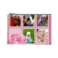 Mothers Day By Jo Jo   Cosmetic Bag (large)   U1x9mf0drpfp   Www Artscow Com Front