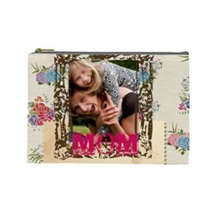 Mothers Day By Jo Jo   Cosmetic Bag (large)   Iz4600nl95ux   Www Artscow Com Front