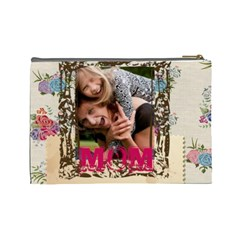 Mothers Day By Jo Jo   Cosmetic Bag (large)   Iz4600nl95ux   Www Artscow Com Back
