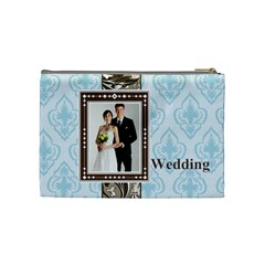 Wedding By Paula Green   Cosmetic Bag (medium)   As82mfx4if9p   Www Artscow Com Back