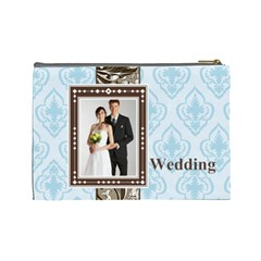 Wedding By Paula Green   Cosmetic Bag (large)   Sfansbxhfxhg   Www Artscow Com Back
