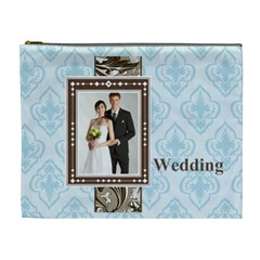 Wedding By Paula Green   Cosmetic Bag (xl)   Qu269h3krx5k   Www Artscow Com Front