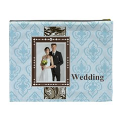 Wedding By Paula Green   Cosmetic Bag (xl)   Qu269h3krx5k   Www Artscow Com Back