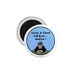 Losing At Poker 1 75  Magnet by ColemantoonsFunnyStore