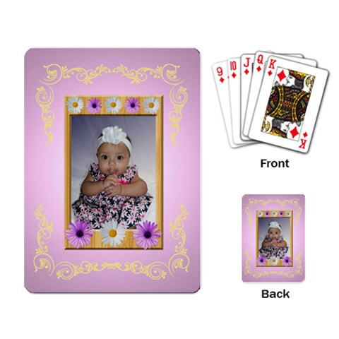 Baby Cards By Angeye   Playing Cards Single Design   7qbu09jecb3g   Www Artscow Com Back