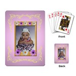 baby cards - Playing Cards Single Design