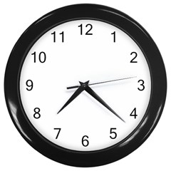 Wall Clock (Black) by greenpay123